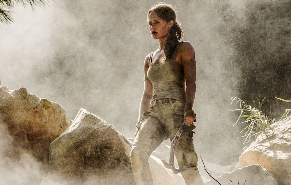 First Look At Alicia Vikander As Lara Croft In New Trailer Alicia Vikander Lara Croft Tomb Raider