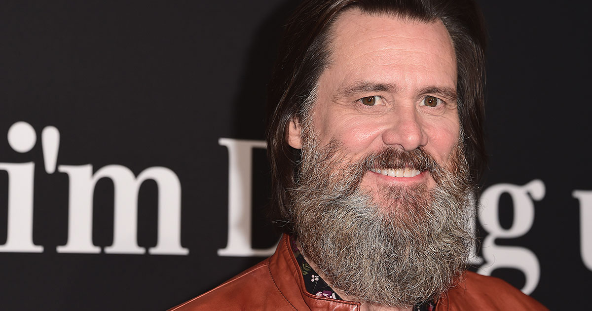 Jim Carrey with a beard