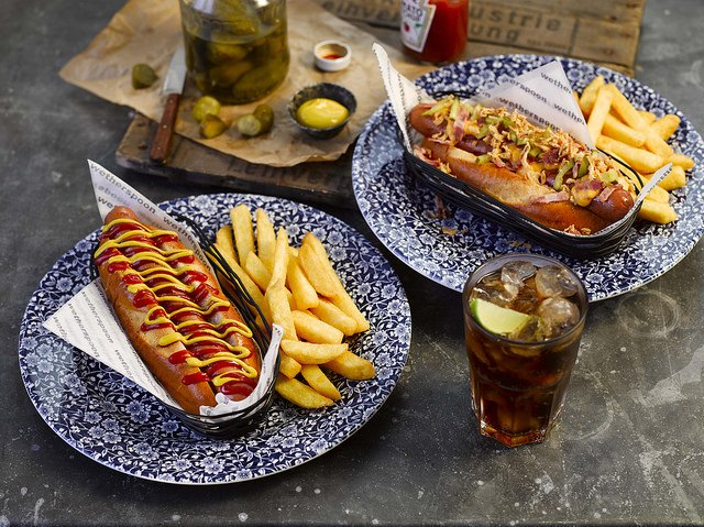 Wetherspoons State Hot Dog