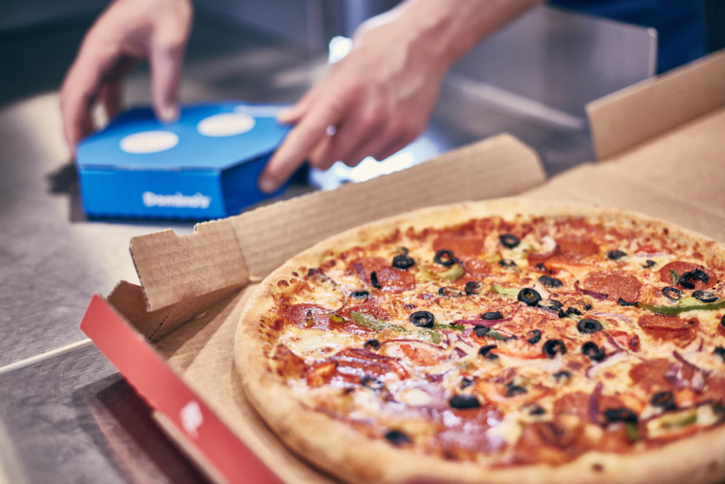 Dominos Offering Free Pizza For A Year To A Mate Of Your Choice DominosBrandingOvers 252 1048x700