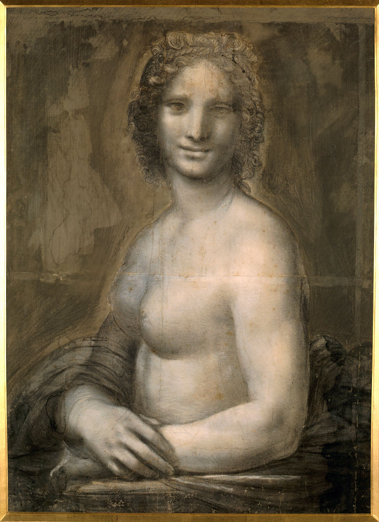 Theres A Version Of The Mona Lisa With No Clothes On GettyImages 646988318