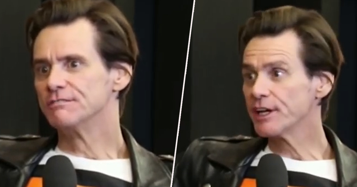People Compare Jim Carrey To Charlie Sheen After Latest Bizarre Interview