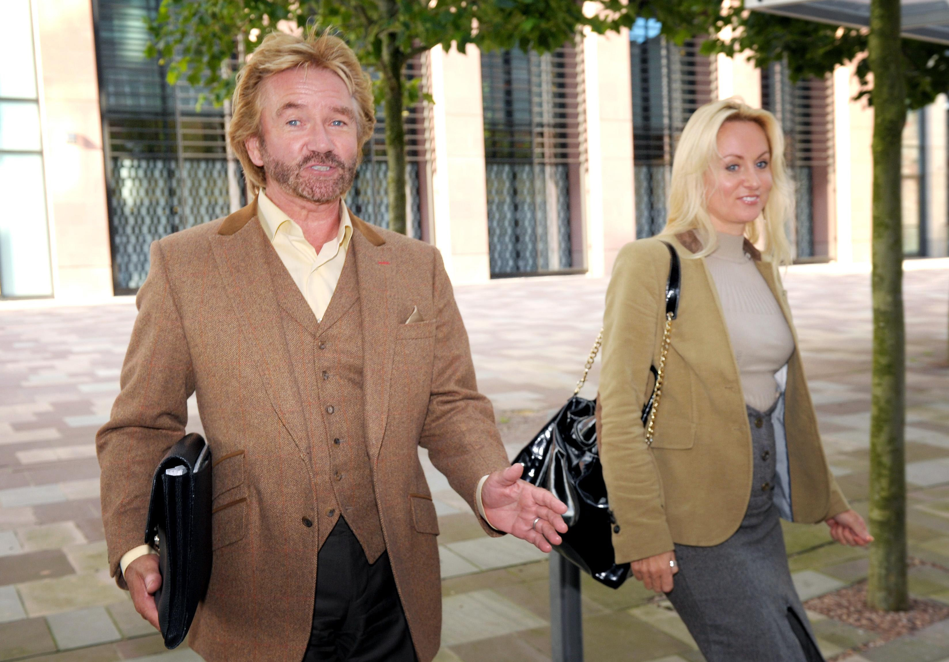 noel edmonds wife liz davies