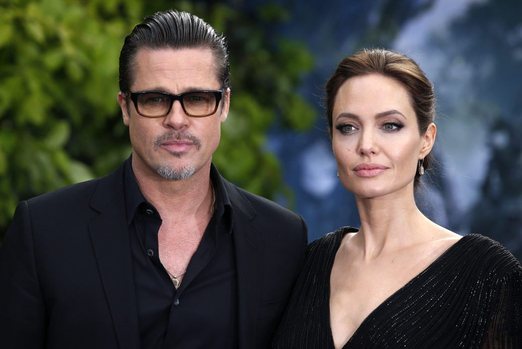 brad pitt angelina jolie hollywood actors