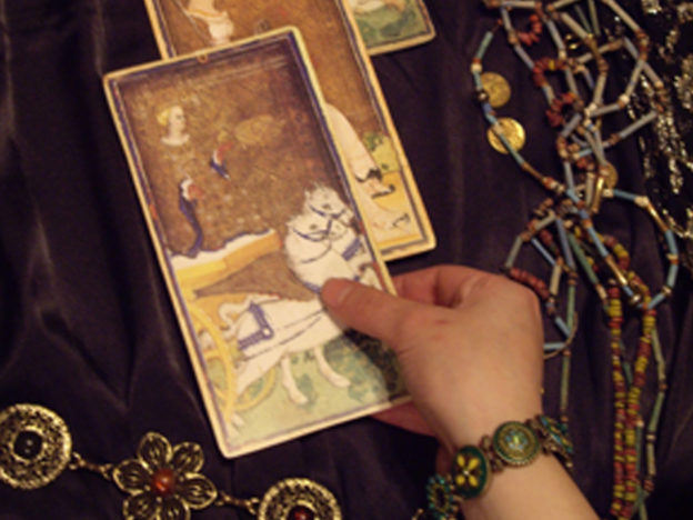 Going To A Psychic Can Be Strangely Comforting When Youre Feeling Vulnerable Tarot card 1 624x468