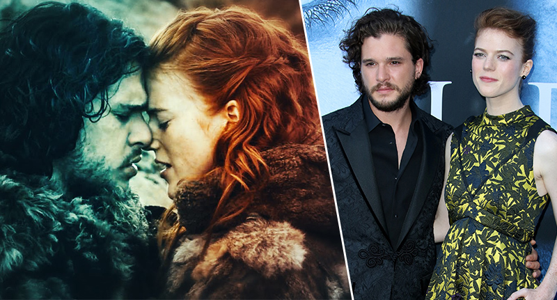 Kit Harington And Rose Leslie 'Are Engaged