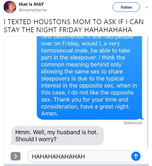 Mum Has Ridiculous Response To Daughters Gay Friend Staying The Night bra 24