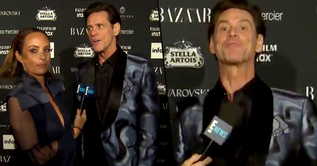 Jim Carrey Explains Bizarre Behaviour In Recent Interviews carrey