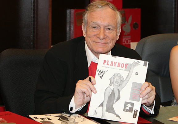 Hugh Hefners Wife And Kids Will Only Inherit His Fortune On One Condition hef web