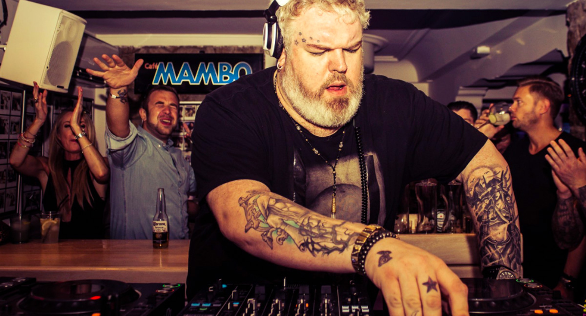 Hodor From Game Of Thrones DJing In Ibiza Is Just Fantastic