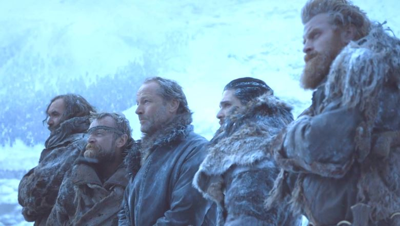 The Hound, Tormund, Beric and Jorah Might Be About To Release Album jorah etc 1