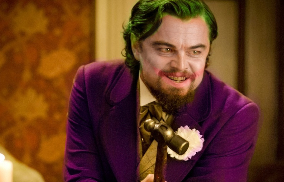 Image result for leonardo dicaprio as joker DC