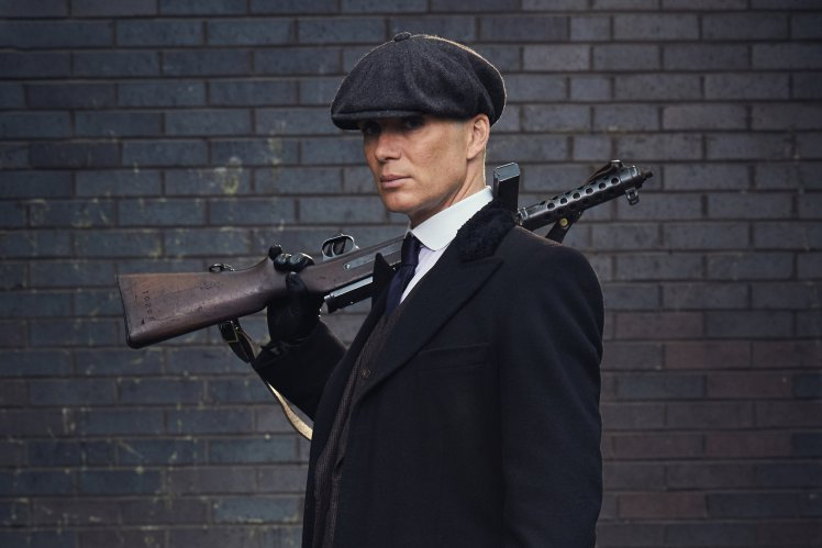 thomas shelby peaky blinders gun
