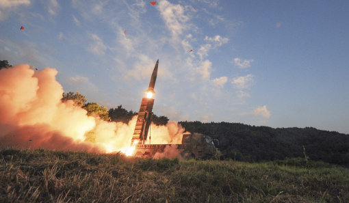North Korea Accidentally Hit Own City With Missile Test south korea missile 3