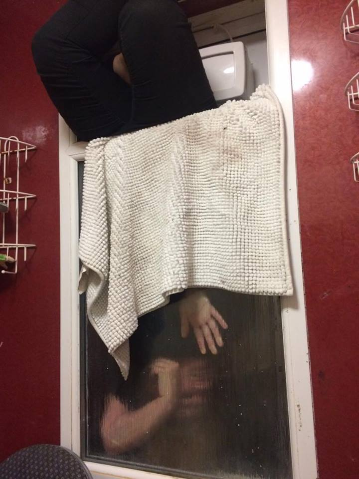 Girl Gets Stuck In Window Trying To Get Rid Of Poo That Wouldnt Flush tinder 2