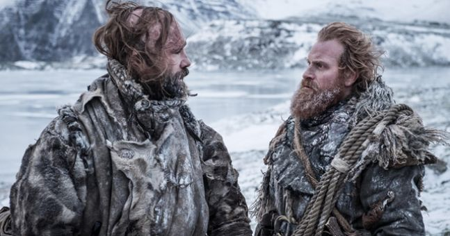 The Hound, Tormund, Beric and Jorah Might Be About To Release Album torhound