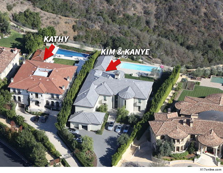 kim and kanye 39 s home attacked in burglary spree. Black Bedroom Furniture Sets. Home Design Ideas