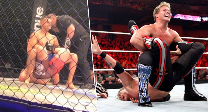 MMA Fighter Uses The Walls Of Jericho To Beat His Opponent