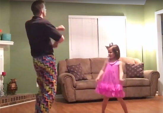 'Dad Dancing' Officially Starts At Age 37, Researchers Discover Dad Dance front