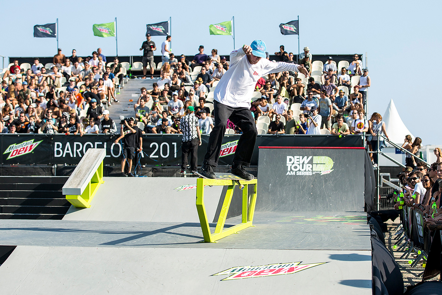 Barcelona Is Basically Heaven On Earth For Skateboarders Dew Tour Am Series 2017 Chris Colbourn