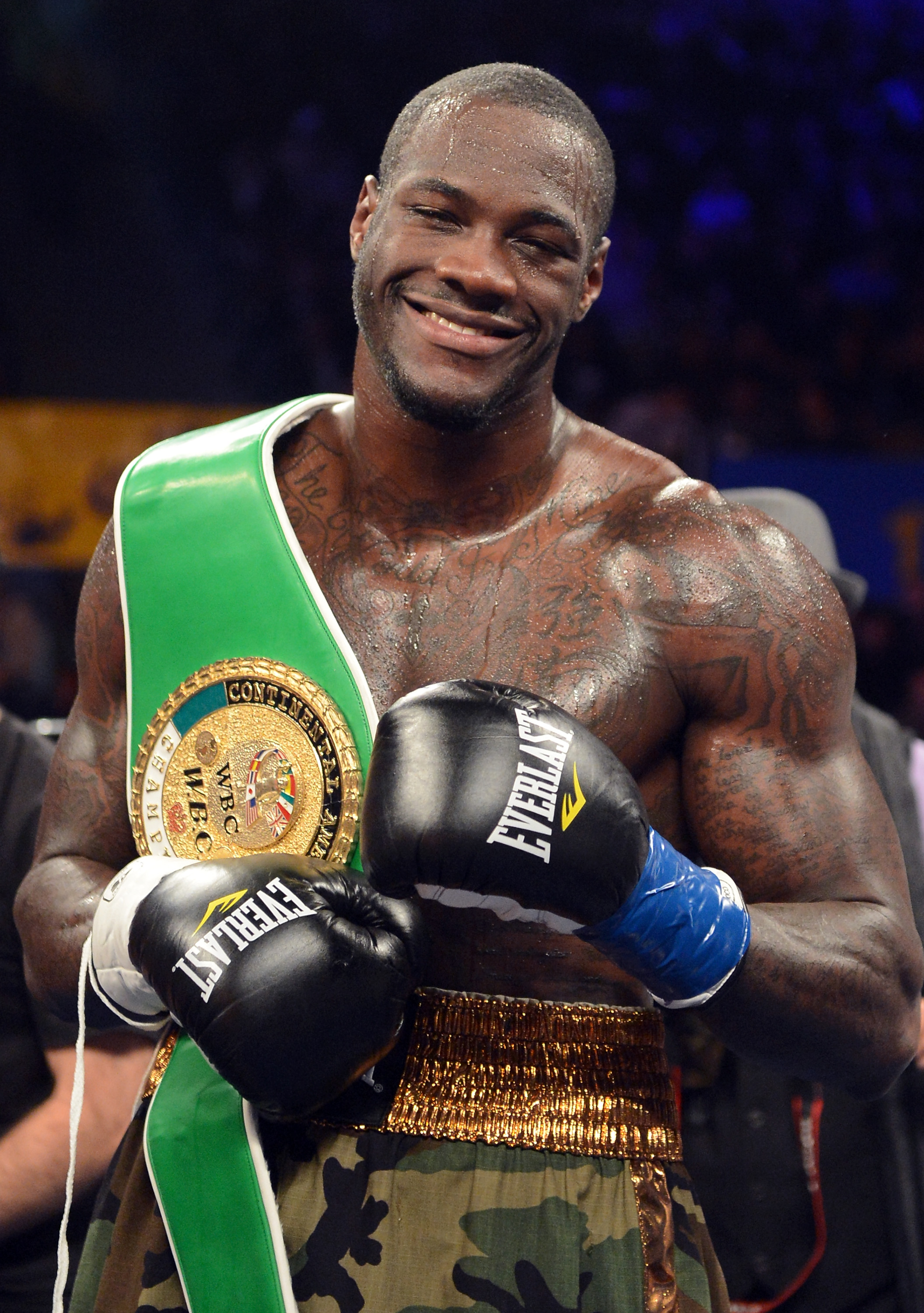 Deontay Wilder Slams Anthony Joshua Over Takam Fight GettyImages 158410682