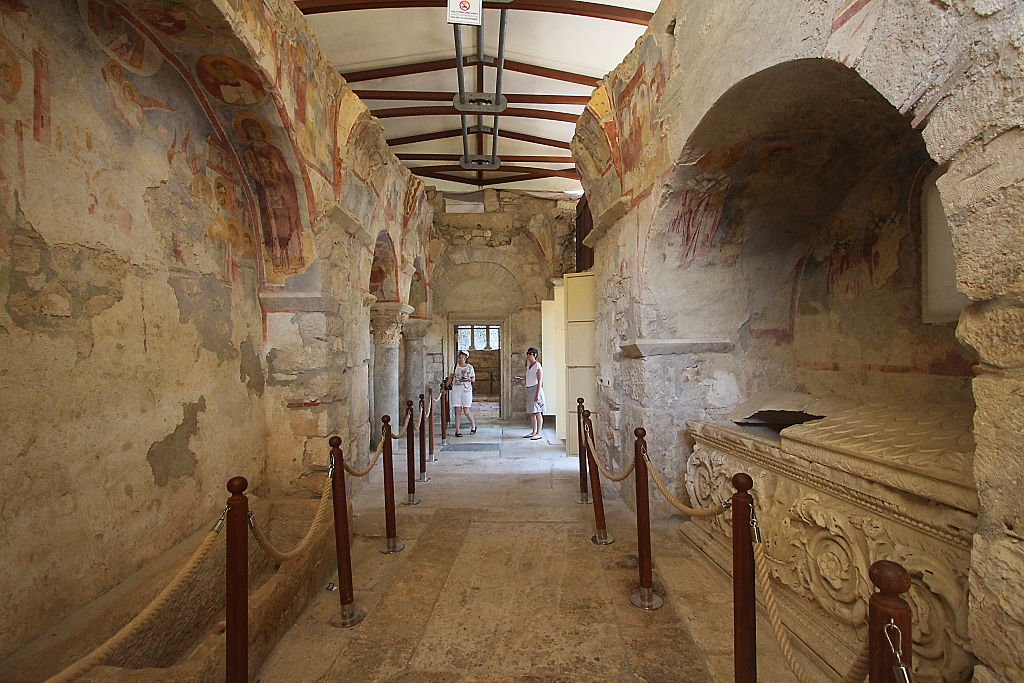 Archaeologists Say Theyve Found Santa Clauss Tomb GettyImages 550272247