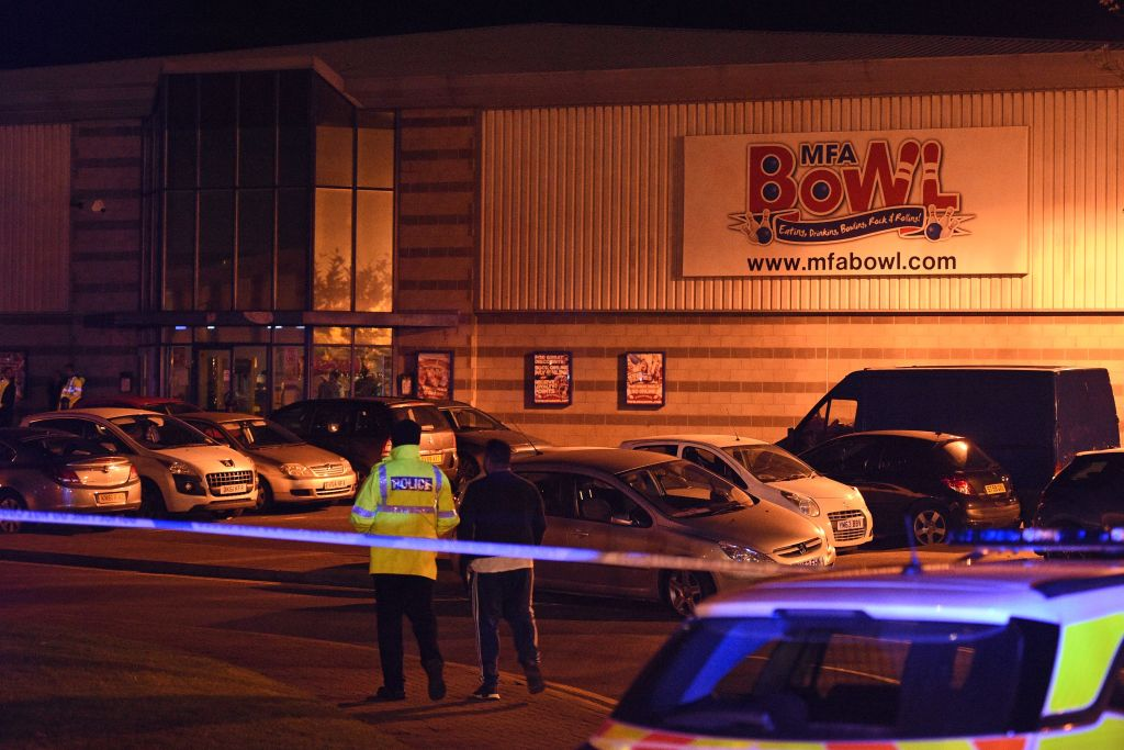 Gunman Takes Hostages In Nuneaton Cinema Complex GettyImages 865104396