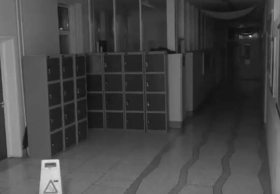School CCTV Camera Captures Terrifying Ghost In Hallway Haunted School A