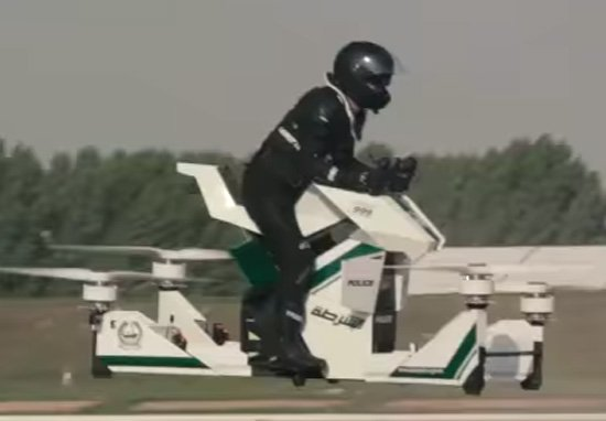 Dubai Police Will Soon Be Riding Hoverbikes Hover