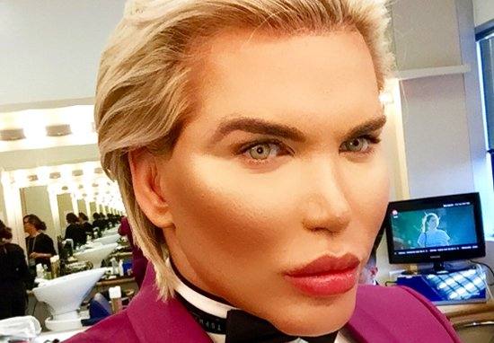 What Celebrity Big Brothers Human Ken Doll Rodrigo Alves Looked Like Before Surgery Human Ken Doll A 1