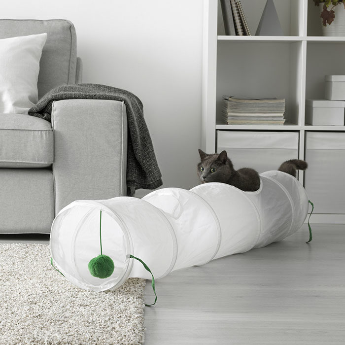 IKEA Launches Furniture Range For Cats And Dogs - Ikea has launched its own pet furniture collection and its paw some