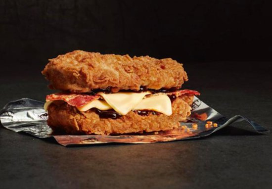 Vegan Version Of KFC Double Down Burger Now Available KFC A 2