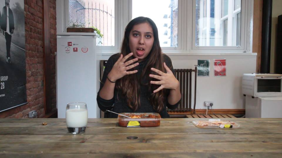 Girl Takes On Hottest Ever Curry Challenge And It Ends Terribly NEELAM 2