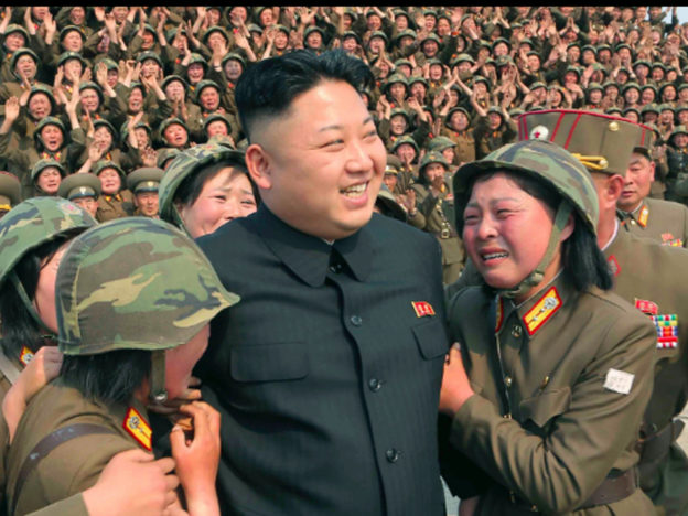 New North Korean Weapon Could Kill 90% Of Americans Expert Warns North Korea Crowd 624x468