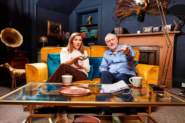 Ed Sheeran Confirmed For Celebrity Gogglebox PROD Jeremy and Jessica0506RT HPJPG
