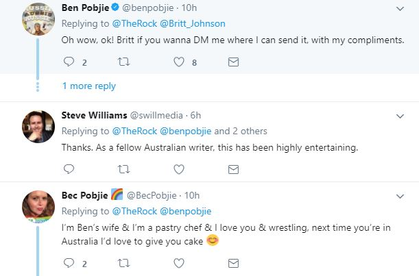 The Rock Shuts Down Comedian Who Told Him Wrestling Isnt Real Pobjie