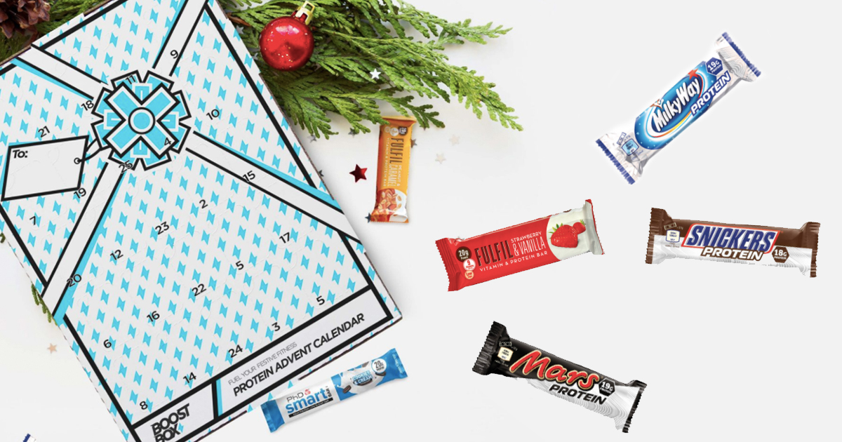 Protein Advent Calendar Is Perfect For The Gym Lover In Your Life Protein Advent Calender B