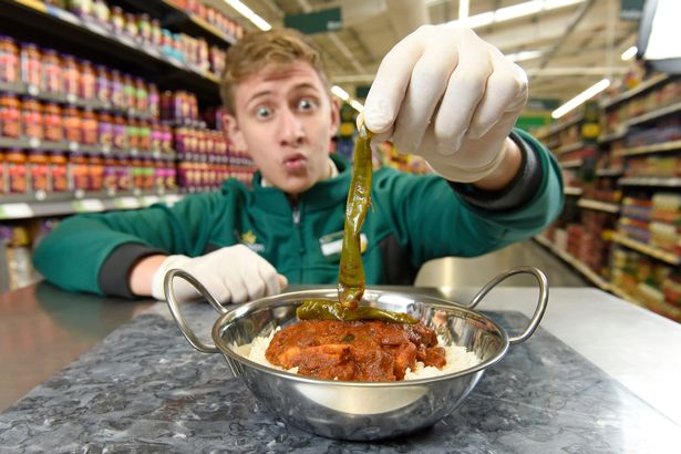 Morrisons Launch UKs Hottest Ever Curry Which Comes With Safety Warning THP CHP 101017SMorrisons 2320JPG