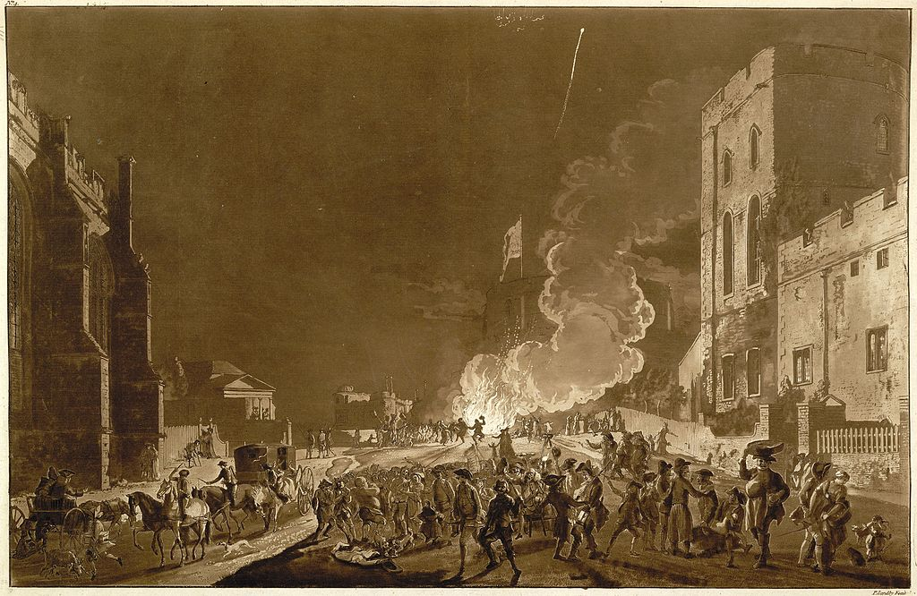 Petition To Ban Fireworks Signed By Thousands Of People Windsor castle guyfawkesnight1776