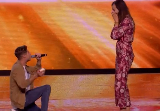 x factor fans spotted something very suspicious during