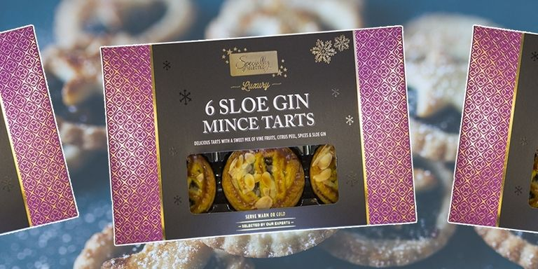 Gin Filled Mince Pies Available This Christmas aldi mince pies 1507731383