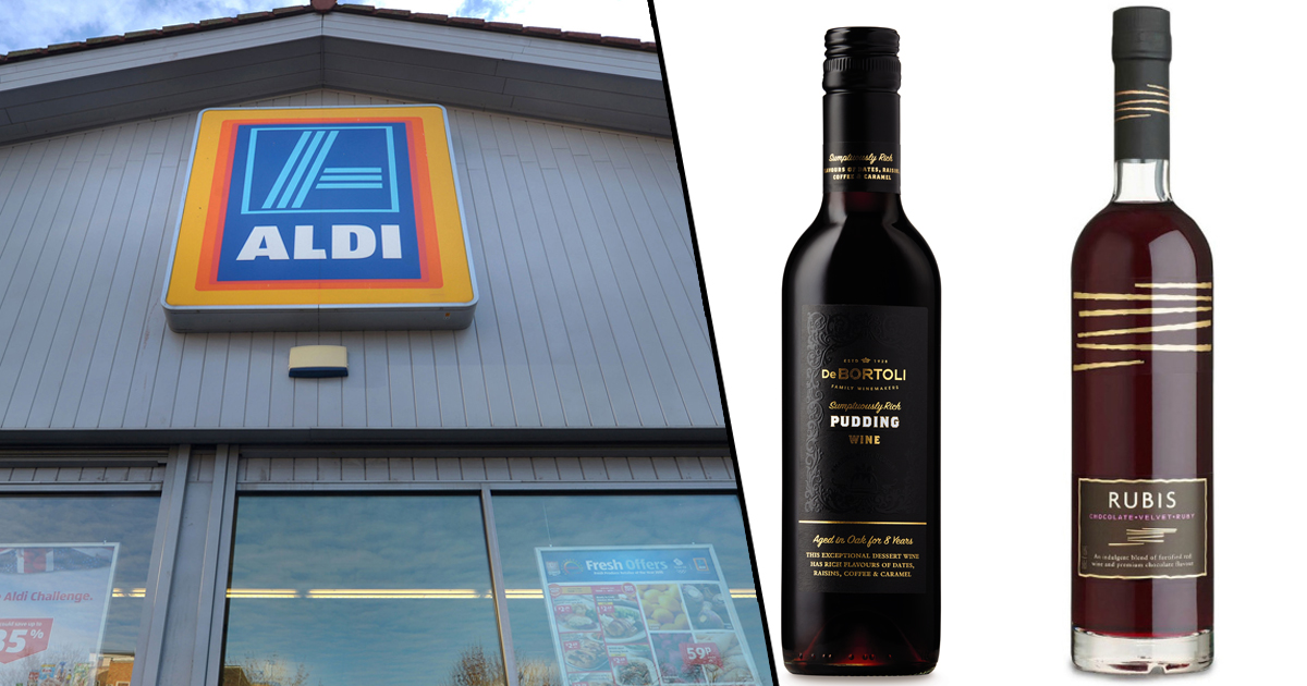 Aldi Is Selling Chocolate Wine For Christmas