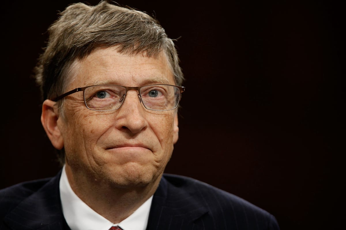 Bill Gates Smiling