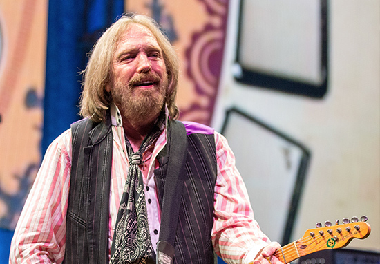 The late musician Tom Petty, he died due to accidental overdose of drug in October