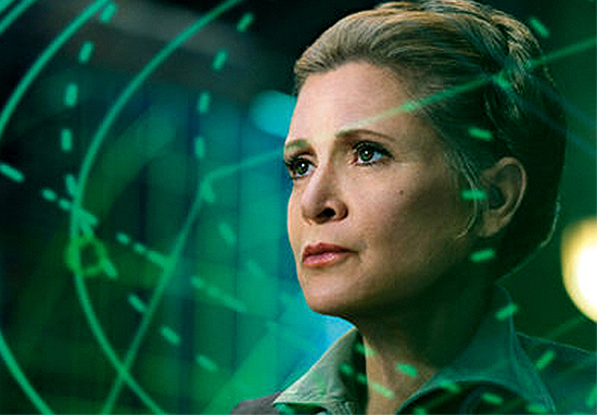 Carrie Fishers Dog To Make Cameo In Star Wars: The Last Jedi carrie fisher tongue web 1