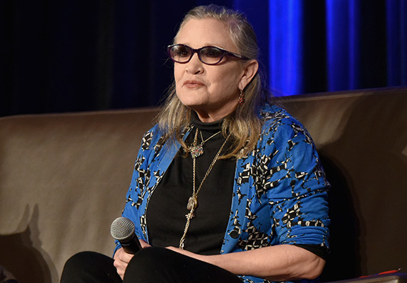 Carrie Fisher Sent Cow Tongue To Producer After Sexual Harassment carrie web thumb