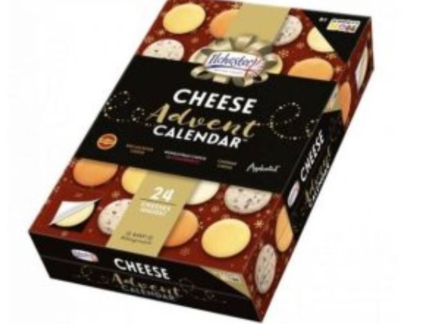 ASDA Are Now Selling A Cheese Advent Calendar cheesse