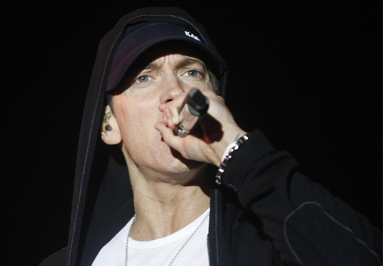 Eminem Given Chilling Warning His Lyrics Could Get Him Killed eminem trump web 1