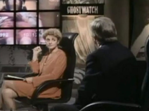 BBC Halloween Programme That Gave Kids PTSD Is 25 Years Old ghostwatch studio 624x468