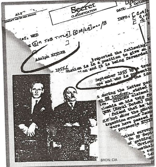 Hitler documents CIA